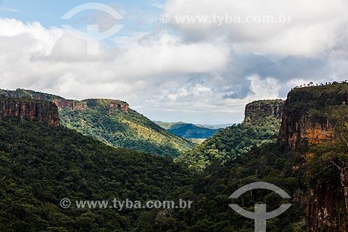 Assunto: Vista do Morro dos Ventos / Local: Chapada dos Guimarães - Mato Grosso (MT) - Brasil / Data: 03/2013