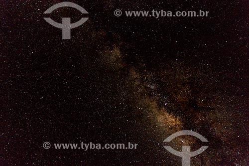 Assunto: Via Láctea vista do Vale do Guaporé / Local: Rondônia (RO) - Brasil / Data: 08/2013