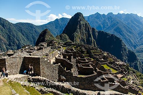 Assunto: Ruínas de Machu Picchu - civilização inca / Local: Peru - América do Sul / Data: 07/2012