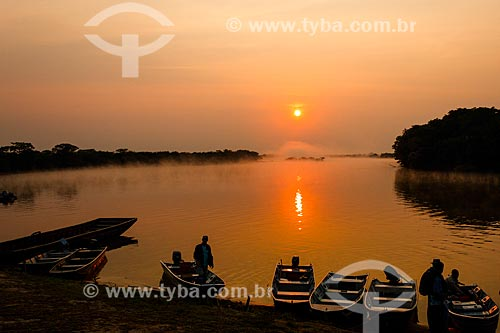 Assunto: Amanhecer no Vale do Guaporé - Fronteira com a Bolívia / Local: Rondônia (RO) - Brasil / Data: 09/2010