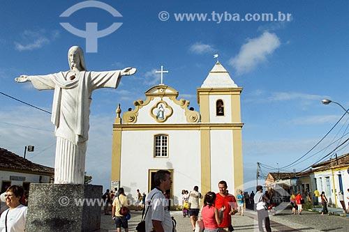 Assunto: Igreja de Nossa Senhora DAjuda (1551) / Local: Distrito de Arraial DAjuda - Porto Seguro - Bahia (BA) - Brasil / Data: 04/1991