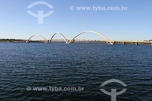 Assunto: Vista geral da Ponte Juscelino Kubitschek (2002) / Local: Brasília - Distrito Federal (DF) - Brasil / Data: 08/2013