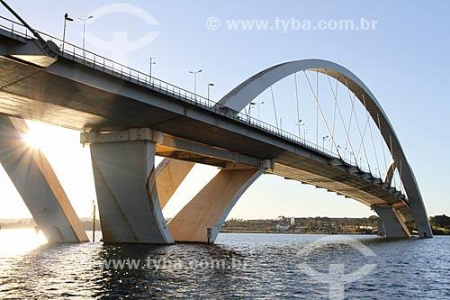 Assunto: Ponte Juscelino Kubitschek (2002) / Local: Brasília - Distrito Federal (DF) - Brasil / Data: 08/2013