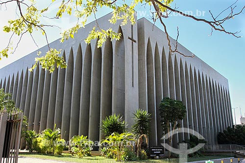 Assunto: Santuario Dom Bosco / Local: Brasília - Distrito Federal (DF) - Brasil / Data: 08/2013