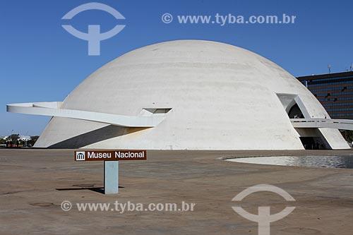 Assunto: Museu Nacional Honestino Guimarães (2006) - parte do Complexo Cultural da República João Herculino / Local: Brasília - Distrito Federal (DF) - Brasil / Data: 08/2013