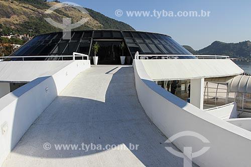 Assunto: Estação Hidroviária de Charitas (2004) - que faz a travessia entre Rio de Janeiro e Niterói - parte do Caminho Niemeyer / Local: Charitas - Niterói - Rio de Janeiro state (RJ) - Brasil / Data: 08/2013