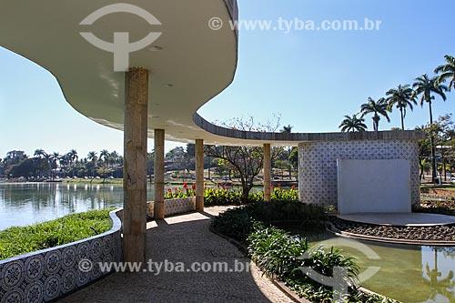 Assunto: Jardim da Casa do Baile (1943) / Local: Pampulha - Belo Horizonte - Minas Gerais (MG) - Brasil / Data: 08/2013