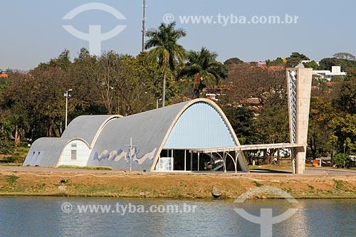 Assunto: Igreja São Francisco de Assis (1943) - também conhecida como Igreja da Pampulha / Local: Pampulha - Belo Horizonte - Minas Gerais (MG) - Brasil / Data: 08/2013