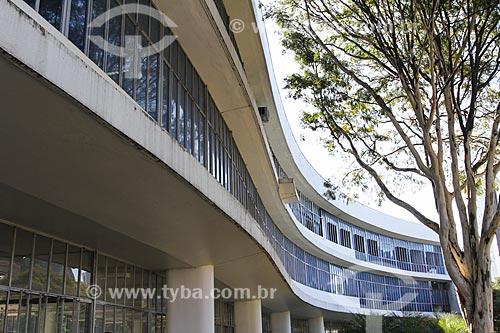 Assunto: Biblioteca Pública Estadual Luiz de Bessa - também conhecida como Biblioteca da Praça da Liberdade / Local: Belo Horizonte - Minas Gerais (MG) - Brasil / Data: 08/2013