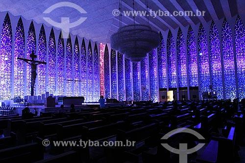 Assunto: Interior do Santuario Dom Bosco / Local: Brasília - Distrito Federal (DF) - Brasil / Data: 08/2013