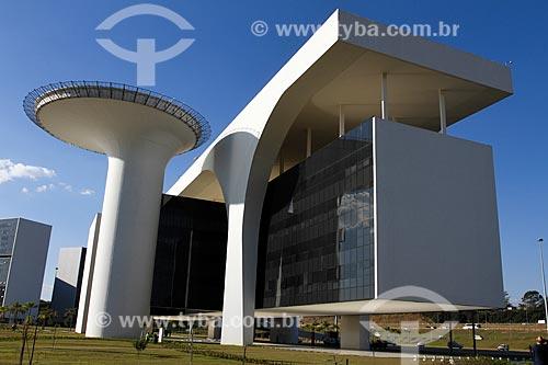 Assunto: Palácio Tiradentes - sede do Governo do Estado - na Cidade Administrativa Presidente Tancredo Neves (2010) / Local: Belo Horizonte - Minas Gerais (MG) - Brasil / Data: 08/2013