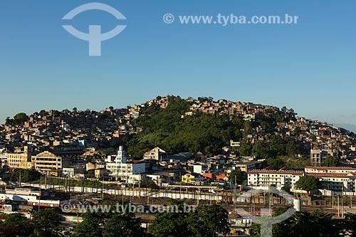 Assunto: Vista da favela da Mangueira / Local: Mangueira - Rio de Janeiro (RJ) - Brasil / Data: 01/2014