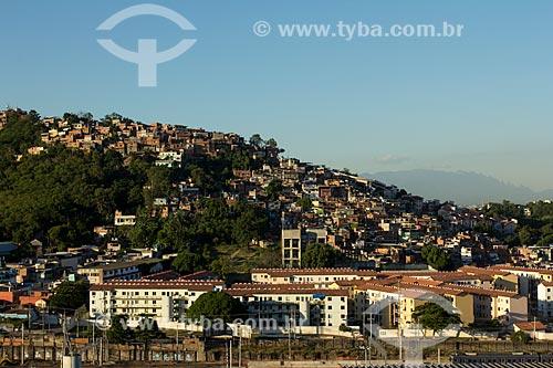 Assunto: Condomínios residenciais Mangueira 1 e 2 - Prédios do projeto Minha Casa Minha Vida / Local: Mangueira - Rio de Janeiro (RJ) - Brasil / Data: 01/2014