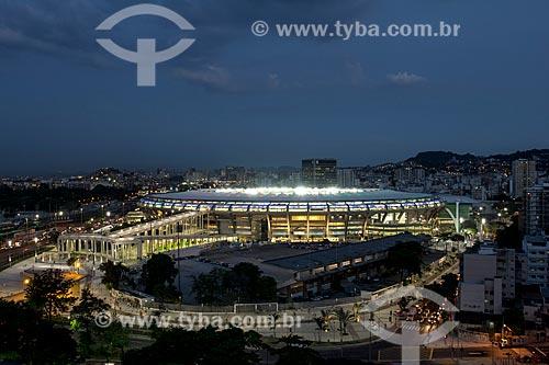 Assunto: Estádio Jornalista Mário Filho - também conhecido como Maracanã / Local: Maracanã - Rio de Janeiro (RJ) - Brasil / Data: 01/2014