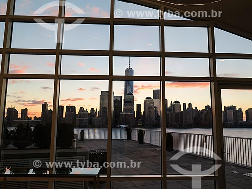 Assunto: Vista de Manhattan ao amanhecer / Local: Nova Iorque - Estados Unidos - América do Norte / Data: 11/2013