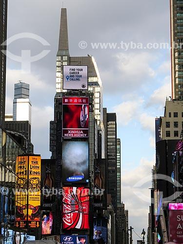 Assunto: Publicidade na Times Square / Local: Nova Iorque - Estados Unidos - América do Norte / Data: 11/2013