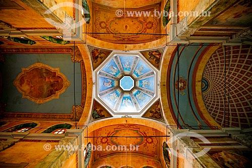 Assunto: Teto da Igreja de São Sebastião (1888) / Local: Manaus - Amazonas (AM) - Brasil / Data: 03/2012