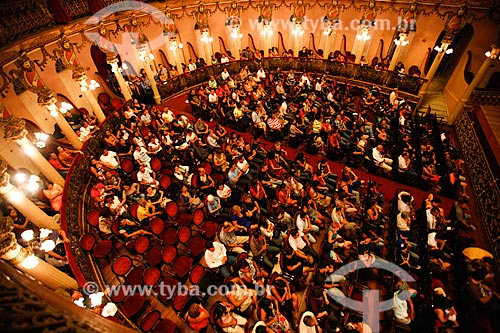 Assunto: Interior do Teatro Amazonas (1896) / Local: Manaus - Amazonas (AM) - Brasil / Data: 03/2012
