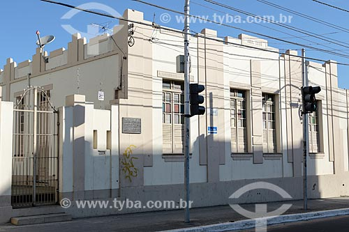 Assunto: Fachada da casa de Glauber Rocha / Local: Vitória da Conquista - Bahia (BA) - Brasil / Data: 01/2014