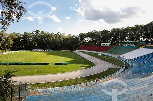Assunto: Campo do Estádio Municipal Lomanto Júnior (1966) / Local: Vitória da Conquista - Bahia (BA) - Brasil / Data: 01/2014