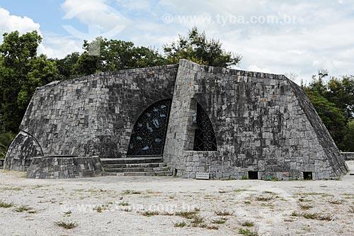 Assunto: Capela do Menino Jesus - também conhecida como Igreja de Pedra / Local: Itapetinga - Bahia (BA) - Brasil / Data: 01/2014