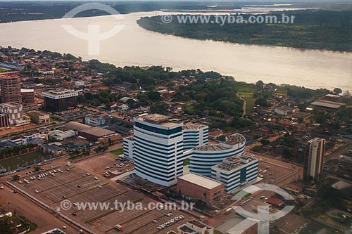 Assunto: Foto aérea do Centro Político Administrativo Palácio Rio Madeira / Local: Porto Velho - Rondônia (RO) - Brasil / Data: 02/2014