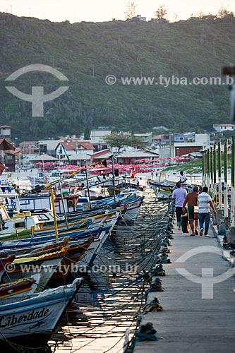 Assunto: Barcos na Marina dos Pescadores / Local: Arraial do Cabo - Rio de Janeiro (RJ) - Brasil / Data: 01/2014