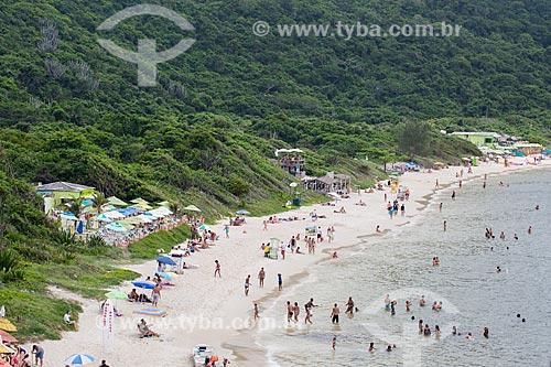Assunto: Vista geral da Praia do Forno / Local: Arraial do Cabo - Rio de Janeiro (RJ) - Brasil / Data: 01/2014