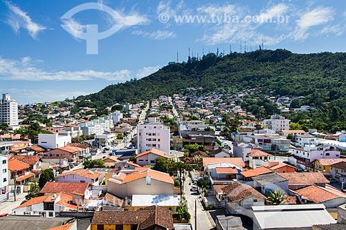 Assunto: Bairro Agronômica e Morro da Cruz ao fundo / Local: Agronômica - Florianópolis - Santa Catarina (SC) - Brasil / Data: 01/2014