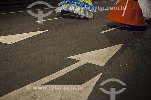 Assunto: Baianas no desfile do bloco de carnaval de rua Banda Cultural do Jiló / Local: Tijuca - Rio de Janeiro (RJ) - Brasil / Data: 02/2012