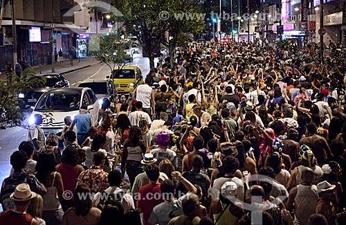 Assunto: Desfile do bloco de carnaval de rua Banda Cultural do Jiló / Local: Tijuca - Rio de Janeiro (RJ) - Brasil / Data: 02/2012