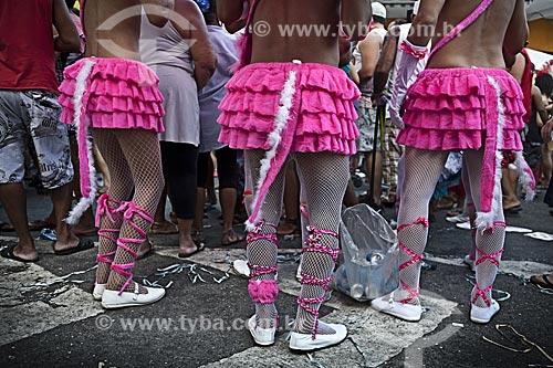 Assunto: Desfile do bloco de carnaval de rua Banda de Madureira / Local: Tijuca - Rio de Janeiro (RJ) - Brasil / Data: 02/2012