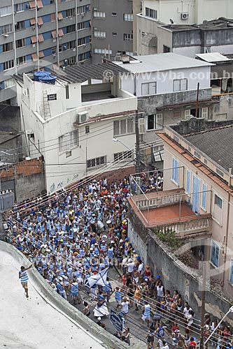 Assunto: Bateria do bloco de carnaval de rua Cardosão de Laranjeiras / Local: Laranjeiras - Rio de Janeiro (RJ) - Brasil / Data: 02/2012