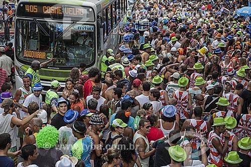 Assunto: Desfile do bloco de carnaval de rua Xupa mas não baba / Local: Laranjeiras - Rio de Janeiro (RJ) - Brasil / Data: 02/2012