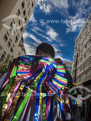 Assunto: Desfile do bloco de carnaval de rua Bloco da ansiedade / Local: Laranjeiras - Rio de Janeiro (RJ) - Brasil / Data: 02/2012