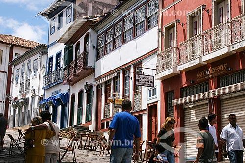 Assunto: Vista da Rua da Quitanda / Local: Diamantina - Minas Gerais (MG) - Brasil / Data: 12/2007