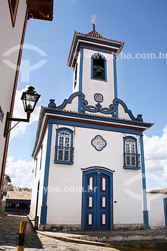 Assunto: Vista da Igreja de Nossa Senhora do Amparo / Local: Diamantina - Minas Gerais (MG) - Brasil / Data: 12/2007