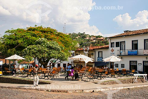 Assunto: Praça Santa Rita / Local: Sabará - Minas Gerais (MG) - Brasil / Data: 12/2007