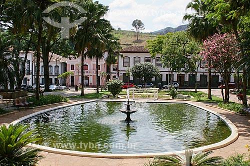 Assunto: Praça Gomes Freire / Local: Mariana - Minas Gerais (MG) - Brasil / Data: 12/2007