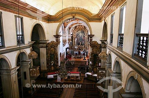 Assunto: Interior da Catedral Basílica Nossa Senhora da Assunção - Também conhecida como Igreja da Sé / Local: Mariana- Minas Gerais (MG) - Brasil / Data: 12/2007
