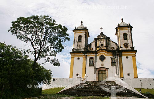 Assunto: Igreja São Francisco de Paula / Local: Ouro Preto - Minas Gerais (MG) - Brasil / Data: 12/2007