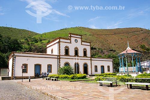Assunto: Praça do Coreto e Estação Ferroviária de Ouro Preto / Local: Ouro Preto - Minas Gerais (MG) - Brasil / Data: 12/2007