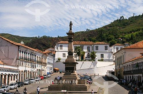 Assunto: Monumento a Tiradentes / Local: Ouro Preto - Minas Gerais (MG) - Brasil / Data: 12/2007