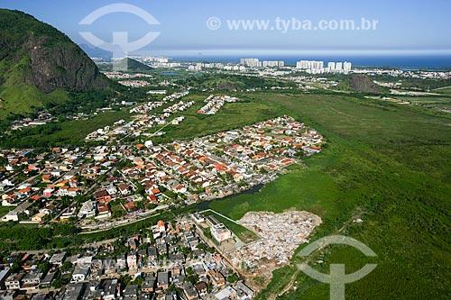 Vista aérea de Vargem Pequena  - Rio de Janeiro - Rio de Janeiro - Brasil