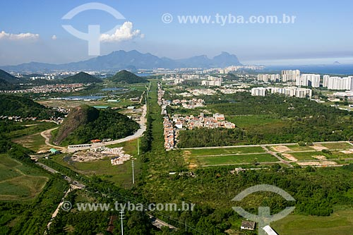 Vista aérea do Recreio dos Bandeirantes  - Rio de Janeiro - Rio de Janeiro - Brasil