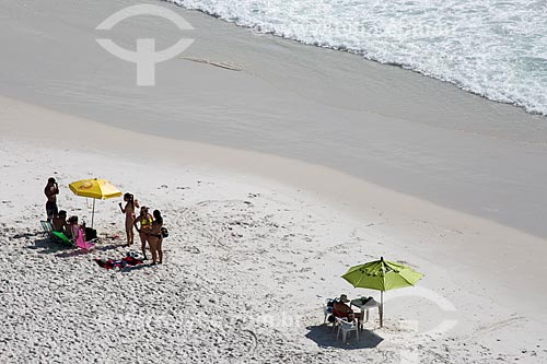 Assunto: Banhistas na Prainha do Pontal do Atalaia / Local: Arraial do Cabo - Rio de Janeiro (RJ) - Brasil / Data: 01/2014