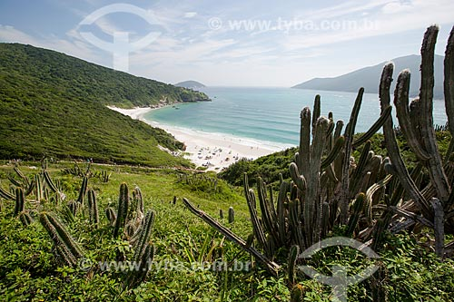 Assunto: Vista geral da Prainha do Pontal do Atalaia / Local: Arraial do Cabo - Rio de Janeiro (RJ) - Brasil / Data: 01/2014