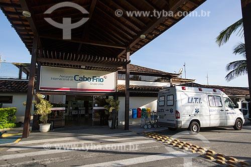 Assunto: Entrada do Aeroporto Internacional de Cabo Frio / Local: Cabo Frio - Rio de Janeiro (RJ) - Brasil / Data: 12/2013