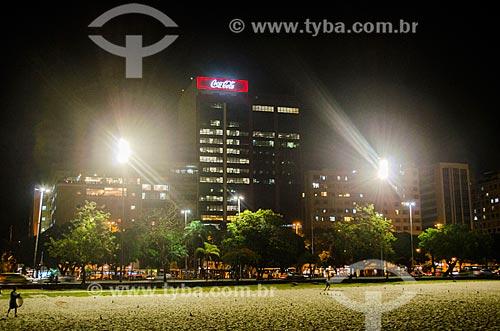 Assunto: Praia de Botafogo com prédios ao fundo / Local: Botafogo - Rio de Janeiro (RJ) - Brasil / Data: 01/2014