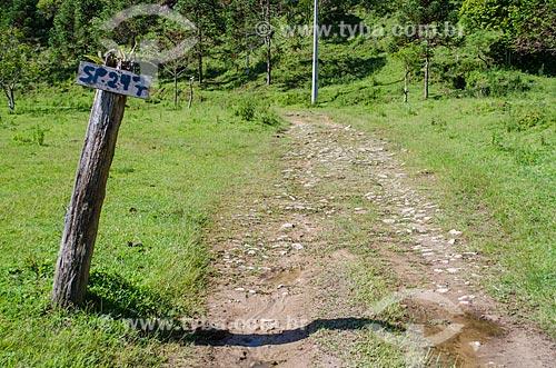 Assunto: Trecho da Rodovia SP-247 para acesso à Cachoeira do Bracuí / Local: Bananal - São Paulo (SP) - Brasil / Data: 01/2014